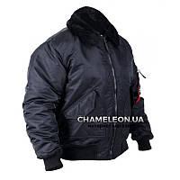 Куртка cwu c меховым воротником Black