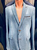 Пиджак светло-синий под джинс