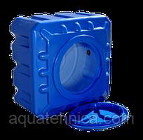 Емкость квадратная для душа 100 литров