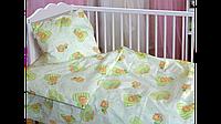 Детское постельное белье в кроватку для новорожденных