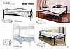 Кровать Элис Люкс двухъярусная 90*200, фото 2