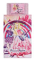 Постельное белье Tac Disney - Barbie Princess Pop Star 160*220 подростковое