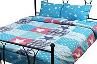 Комплект постельного белья Руно Евро Звезда Остра микрофибра арт.845.52Зірка Остра