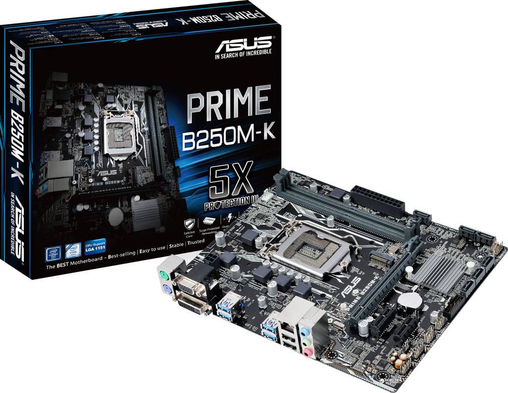 "Уценка! Материнская плата Asus Prime B250M-K s.1151 DDR4 ""Over-Stock"""