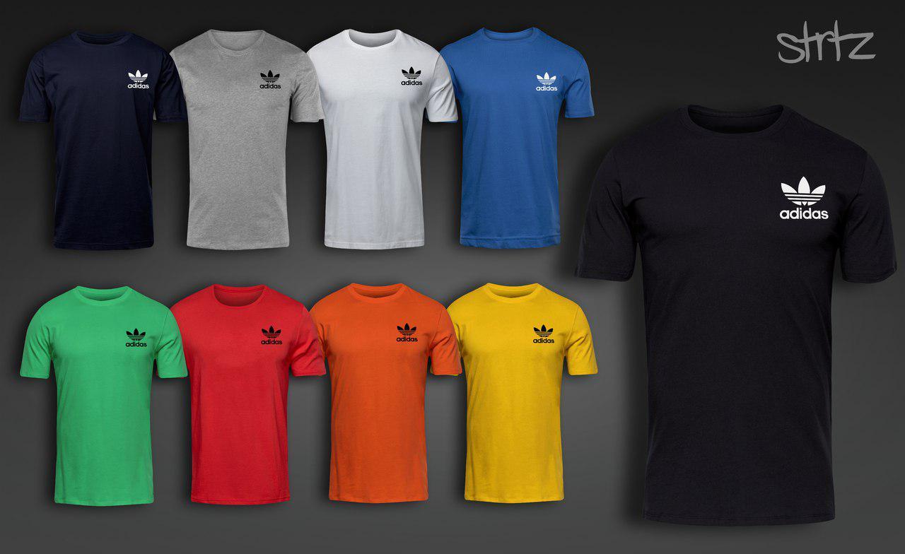 Молодежная футболочка стильная спортивная адик оригинал Adidas Originals