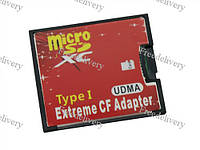 MicroSD TF - CompactFlash CF Type I адаптер