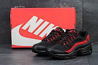 Кроссовки Nike Air Max 95 (черно красные) кроссовки найк nike 4796