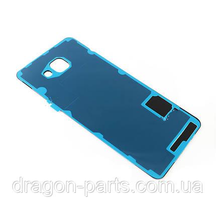 Задняя крышка стеклянная Samsung A710 Galaxy A7 2016  розово-золотая оригинал, GH82-11325D, фото 2