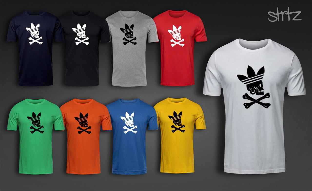 Оригинальная футболка мужская с принтом адидас ориджинал Adidas Originals