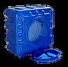 Емкость пластиковая квадратная двухслойная Рото Европласт 500 литров