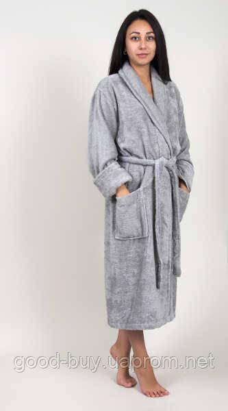 8aa38f1e591d1 Домашняя одежда Tac - Халат махра бамбук Maison 3D gri L/XL, цена 1 ...