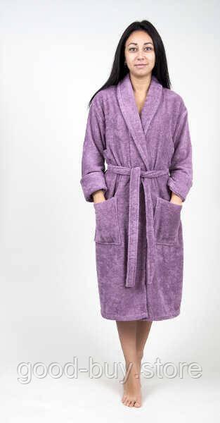 cbe7006232990 Домашняя одежда Tac - Халат махра бамбук Maison 3D orkide lila S/M -