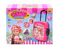 Детский кухонный набор в чемодане 36778-88 Cake game