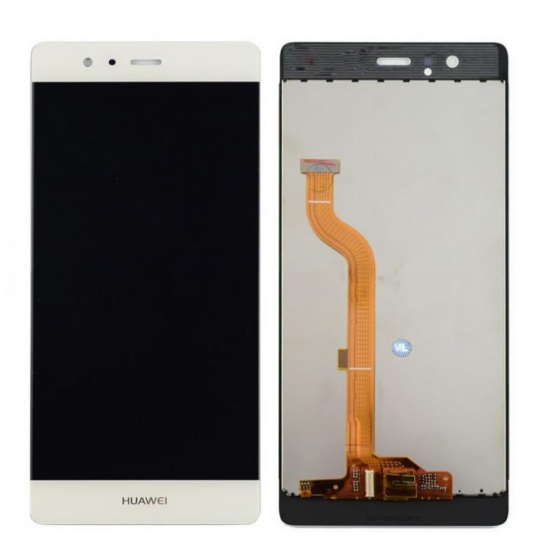 Дисплей модуль Huawei P9 в зборі з тачскріном, білий
