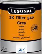 LESONAL 2K Filler 540 двухкомпонентный грунт