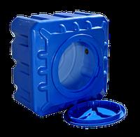 Емкость пластиковая квадратная двухслойная Рото Европласт 200 литров
