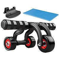 Тренажер (колесо) для мышц пресса Profi (MS 0468)