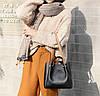 Элегантная трендовая сумка с металлическими ручками, фото 5