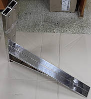 Кронштейн для кондиционера из нержавейки 600мм с упором, фото 1