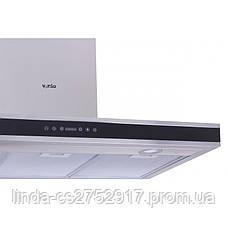 Кухонна витяжка FLAT 90 BK/X (1200) VentoLux, Т-подібний кухонаая витяжка, фото 3