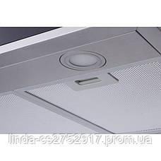 Кухонна витяжка FLAT 90 BK/X (1200) VentoLux, Т-подібний кухонаая витяжка, фото 2