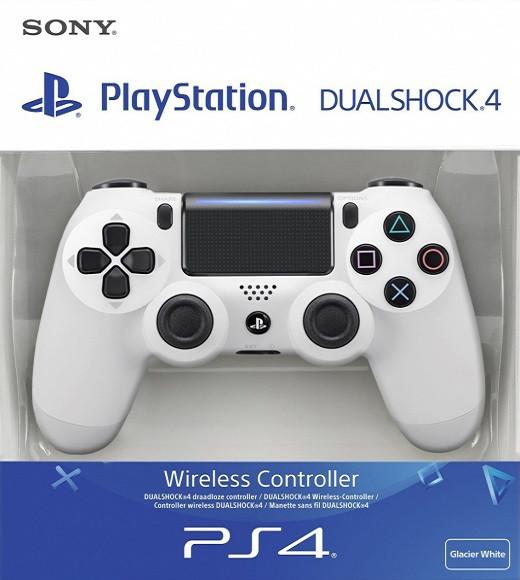 Беспроводной джойстик Sony Dualshock 4 V2 White