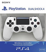 Беспроводной джойстик Sony Dualshock 4 V2 White, фото 1