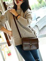 Женская сумка почтальон для модных девушек, фото 3