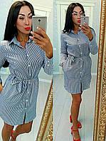 Платье - рубашка женское КБЕ49