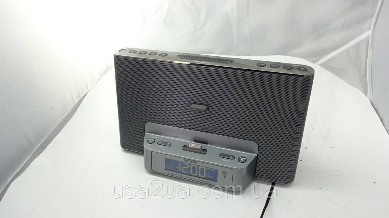 Аудиосистема Sony ICF-DS15iP !!УЦЕНКА!!  Доставка