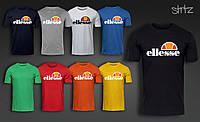Легкая хлопковая футболка мужская элис Ellesse