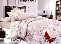 Комплект постельного белья с компаньоном 1703 полуторный (TAG поплин (1,5-sp)-019)