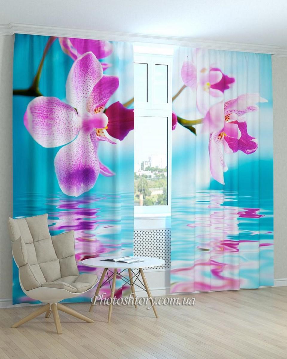 Фотошторы орхидеи от производителя