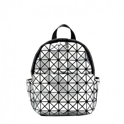 Рюкзак женский Yvonne серебряный eps-8071, фото 2