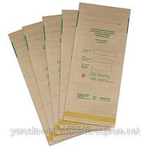 Пакеты для воздушной стерилизации (сухожара) 100х200мм из крафт бумаги 100 шт.