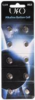 Батарейка UFO AG3 час. (V392) 1X10 шт