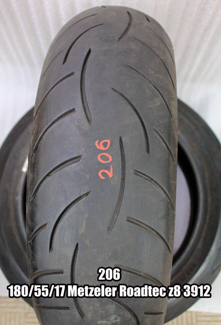 Резина Metzeler Roadtec z8 (код 206) 180/55-17