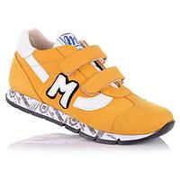 Кроссовки для мальчика Minimen 1.2.123 желтые