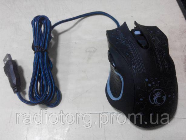 Мышка игровая компьютерная геймерская iMice X9. 2400dpi. 6 кнопок.