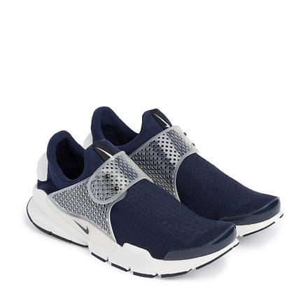 Кроссовки мужские NIKE sock-dart Hir/ Fuji. синие, фото 2