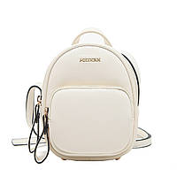 Женский мини рюкзак-сумка Micocah 92, белый