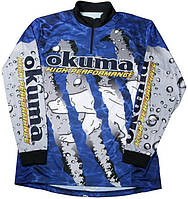 Реглан Okuma Tournament Fishing Shirt р.XL PWT08-BXL