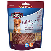 Лакомство для собак Trixie Premio Carpaccio утка/рыба, 80 гр (31804)