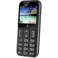 Мобильный телефон (бабушкофон) Fly Ezzy 9 Black