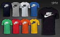 Спортивная молодежная городская футболка хлопковая от производителя найк Nike