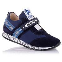 Кроссовки для мальчика Minimen 1.2.119 темно-синие
