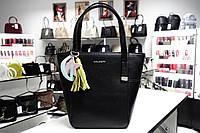 Мини сумочка из натуральной кожи Galanty 10511 black