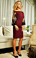 """Женское платье """" Альба """" ,цвета в ассортименте(42-52)"""