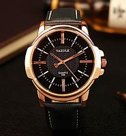 Мужские часы Yazole MWO353-354 Black Black