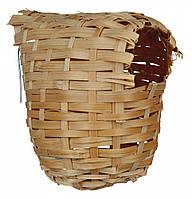 Гнездо для птиц плетенное 15*12см, Trixie™